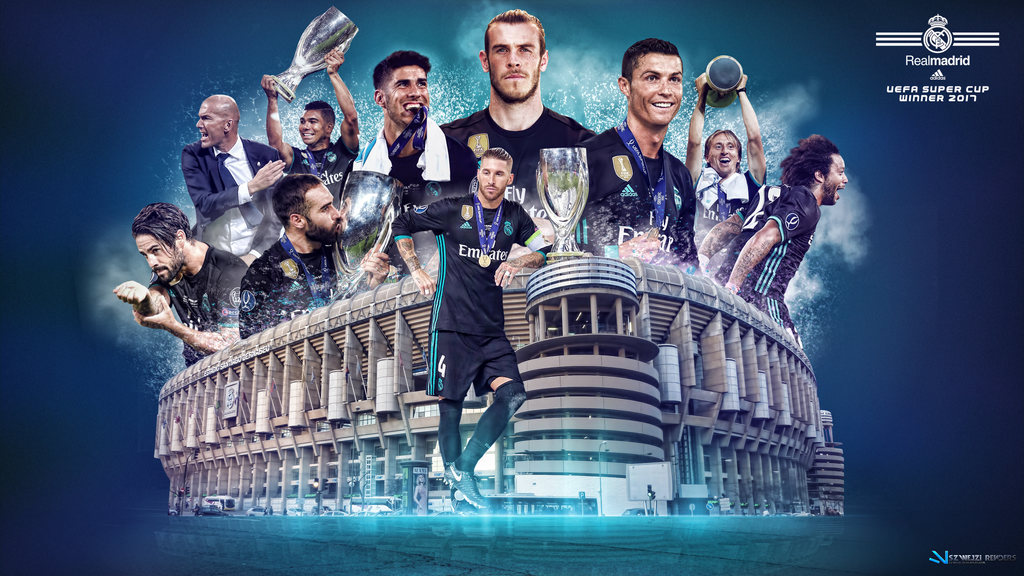 Uefa super cup 2017 winner real madrid by szwejzi on - Real madrid pictures wallpapers 2017 ...