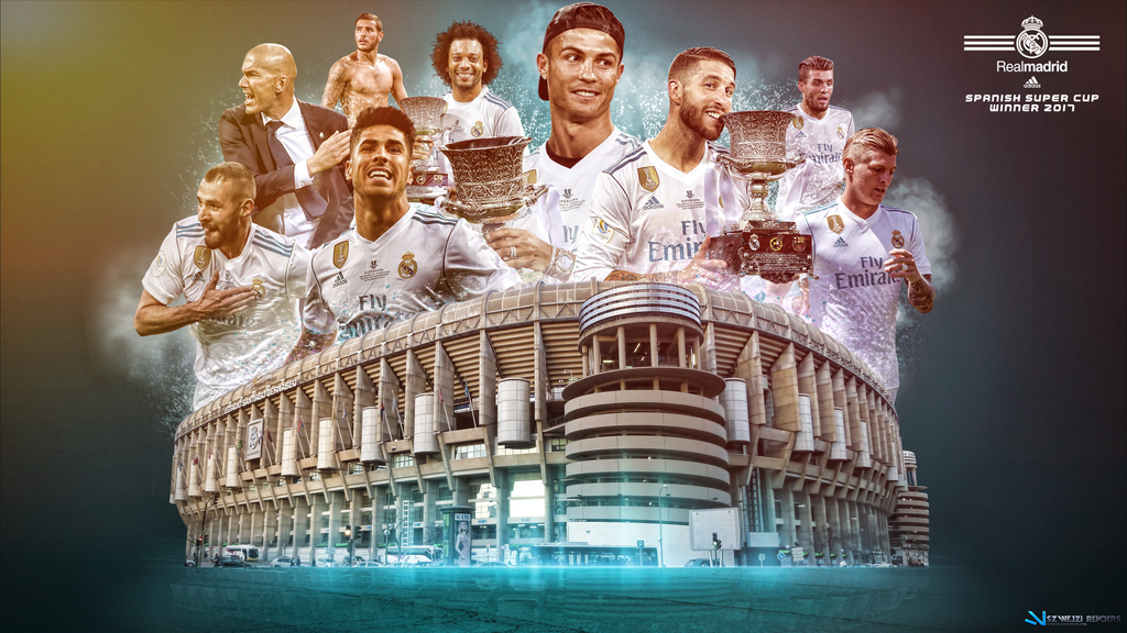 Real madrid 2017 spanish super cup wallpaper by szwejzi on - Real madrid pictures wallpapers 2017 ...
