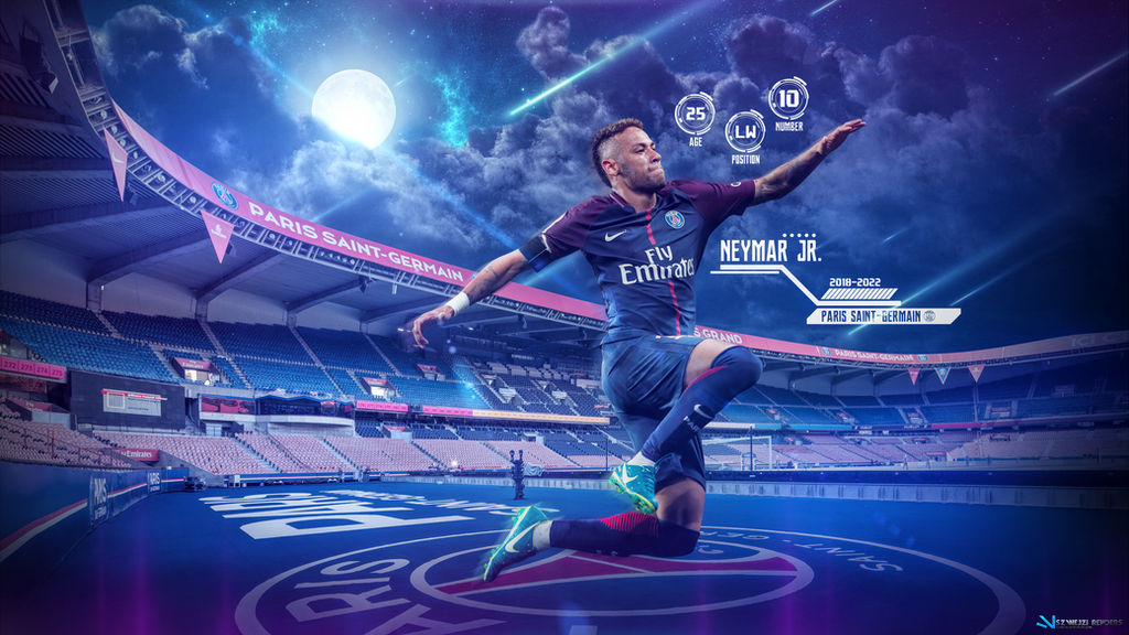 Neymar 2017-2022 PSG Wallpaper By Szwejzi On DeviantArt