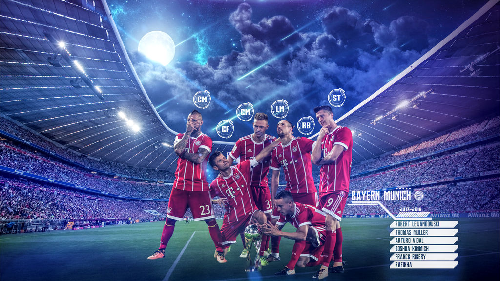 Bayern Munich 2017-2018 Wallpaper By Szwejzi On DeviantArt
