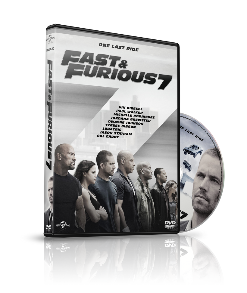 fast furious 7 dvd cover by szwejzi on deviantart. Black Bedroom Furniture Sets. Home Design Ideas