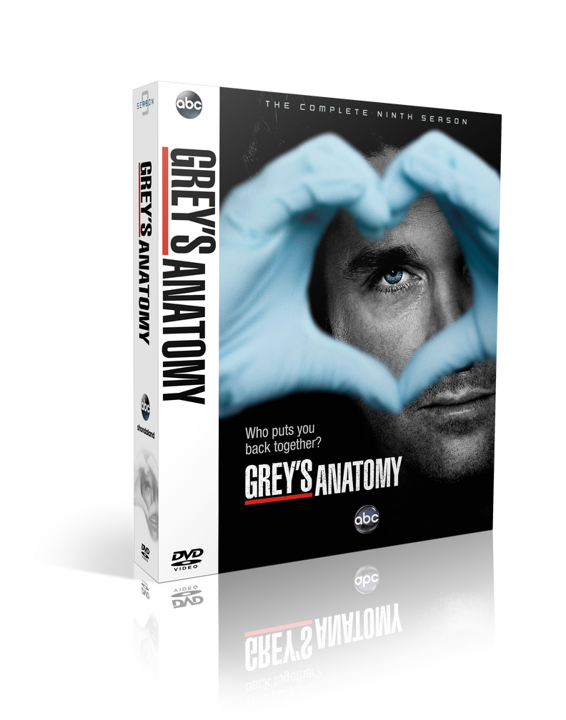 Greys Anatomy S09 DVD Cover by szwejzi on DeviantArt