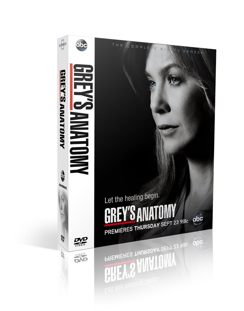 Greys Anatomy S08 DVD Cover by szwejzi on DeviantArt