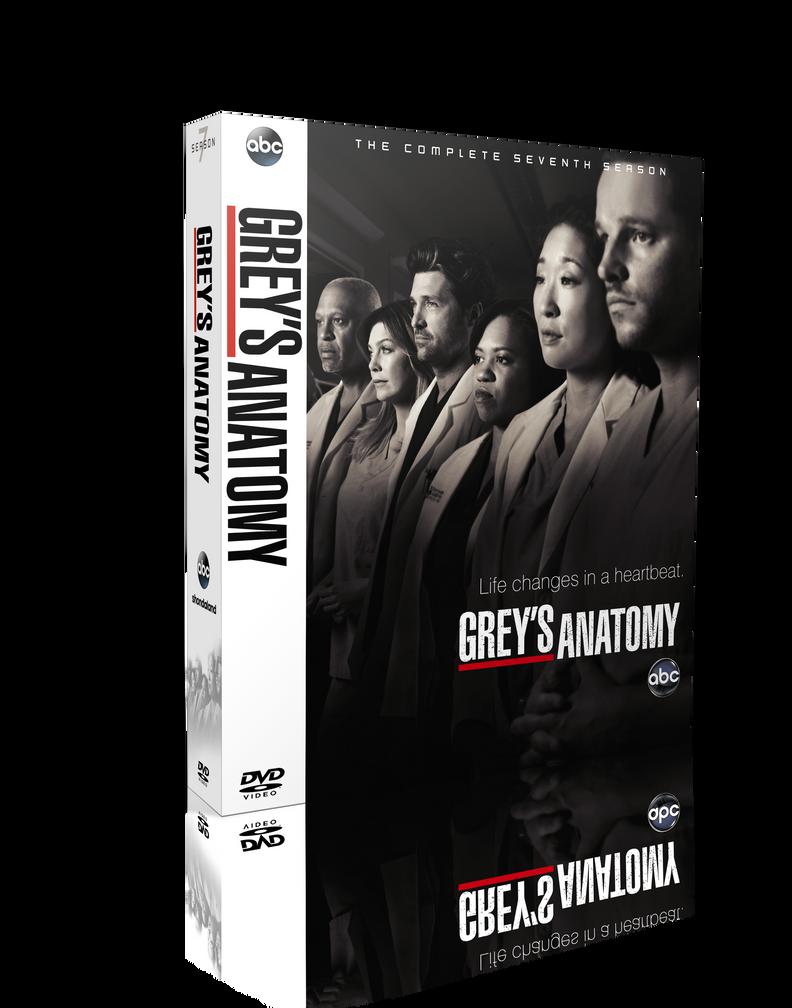 Greys Anatomy S07 DVD Cover by szwejzi on DeviantArt