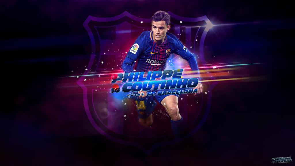 Philippe Coutinho Fc Barcelona 2017 2018 Wallpaper By