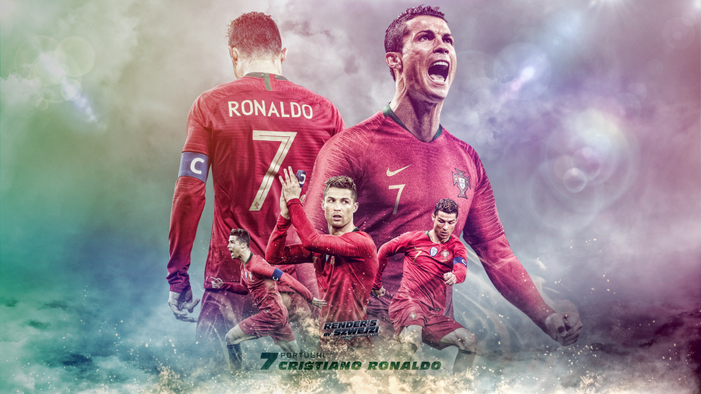 Cristiano Ronaldo Portugal 2018 Wallpaper By Szwejzi On