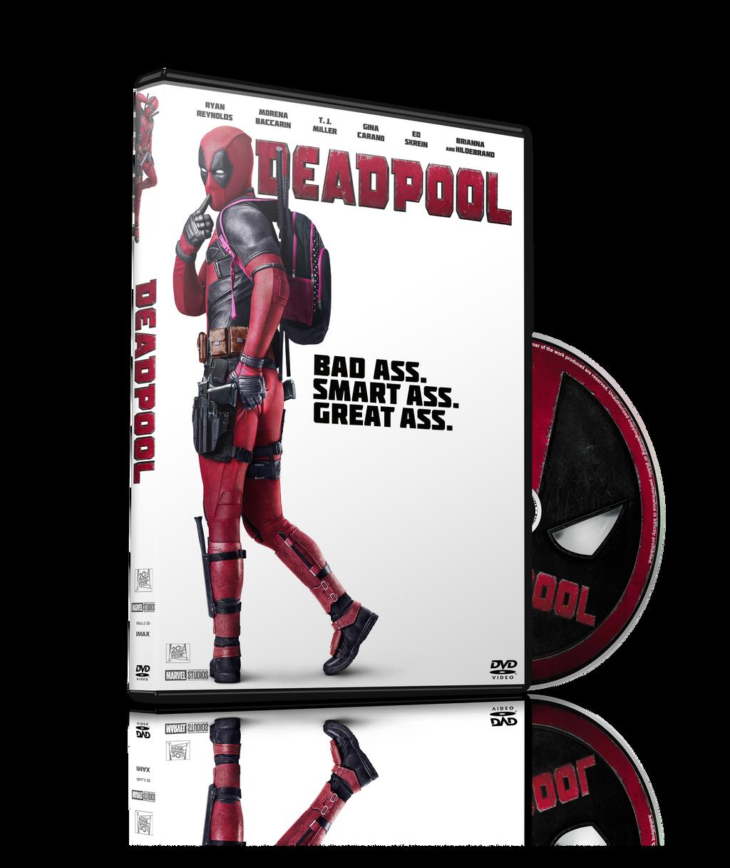 Deadpool 2016 Dvd Cover By Szwejzi On Deviantart