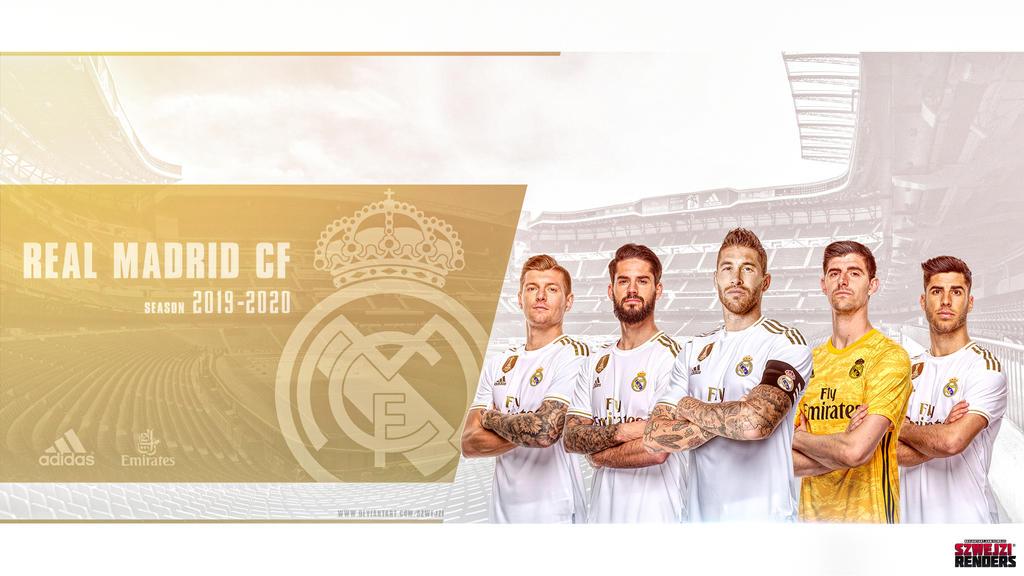 Real Madrid Cf 2019 2020 Wallpaper By Szwejzi On Deviantart