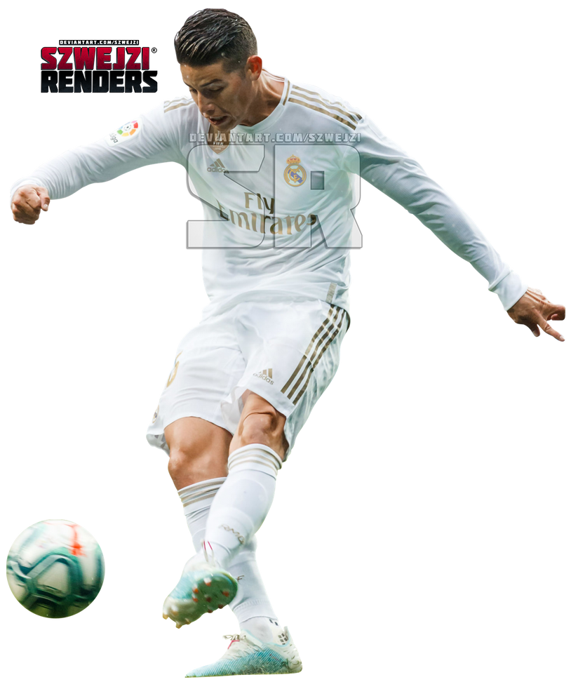 James Rodriguez Real Madrid By Szwejzi On Deviantart