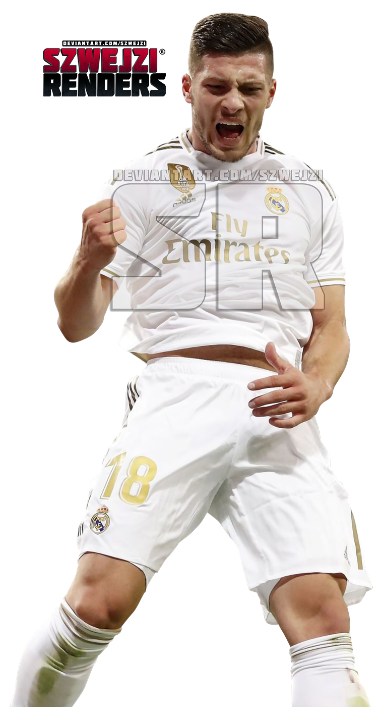 Luka Jovic Real Madrid By Szwejzi On Deviantart