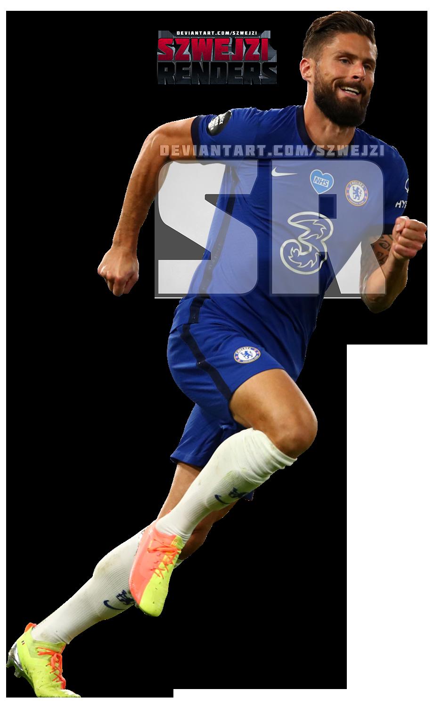 Olivier Giroud Chelsea By Szwejzi On Deviantart