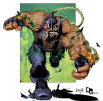 Bane Coloring by DougGarbark
