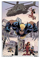 Savage Wolverine - Colors: Doug Garbark by DougGarbark