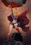 Supergirl by sjsegovia Colors - Doug Garbark