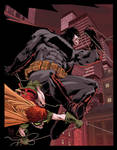 Dark Knight color warm up by Doug Garbark