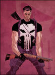 Punisher color warm up by Doug Garbark