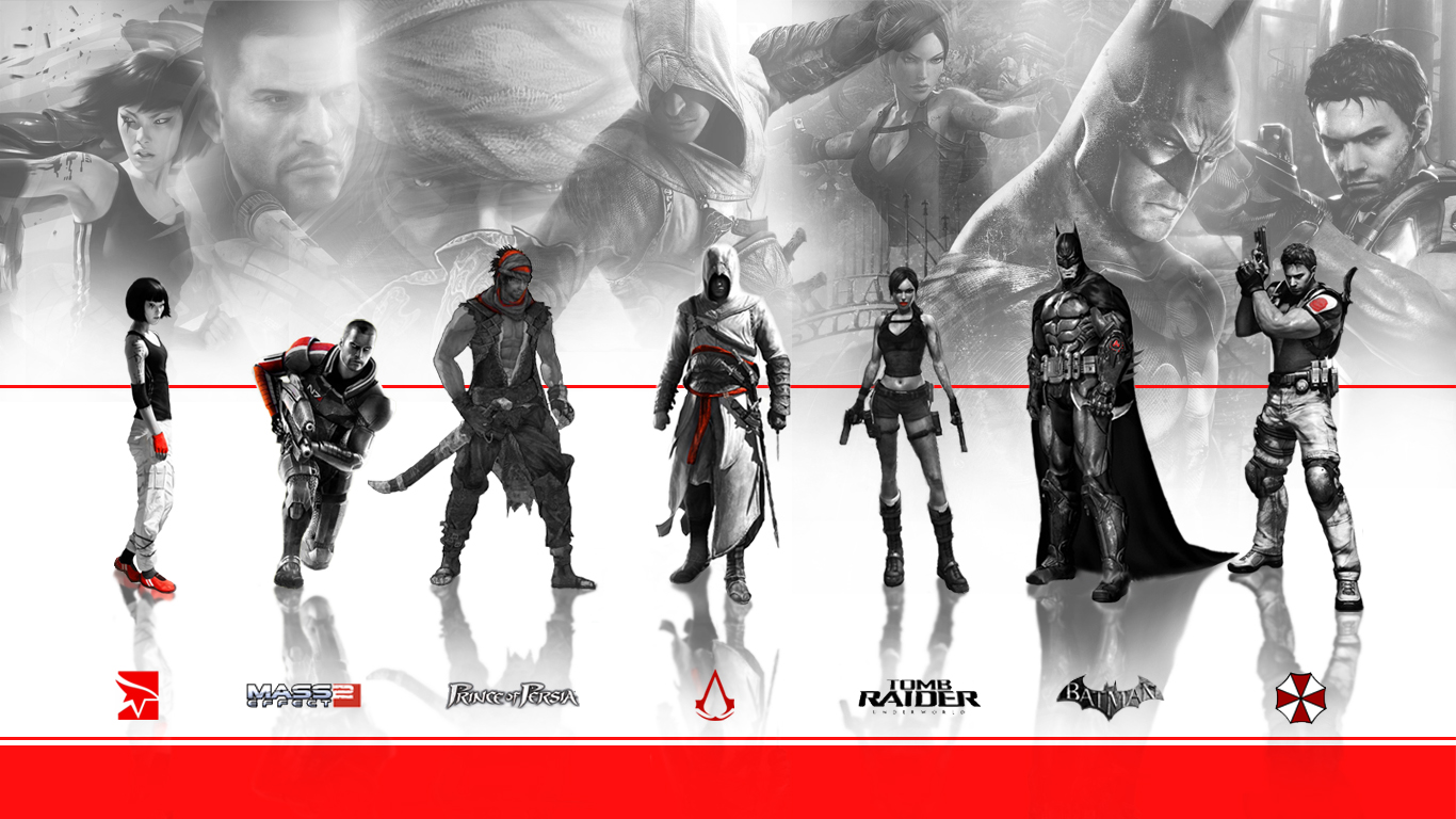 game characters collage 2 by xdimov on deviantart