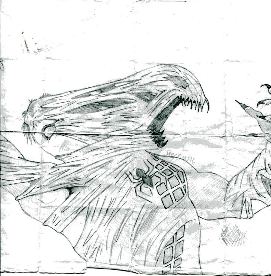 Venom Spiderman 3 Drawings Spiderman 3 veVenom Spiderman 3 Drawings