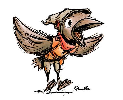 Chirp Kenku Rogue