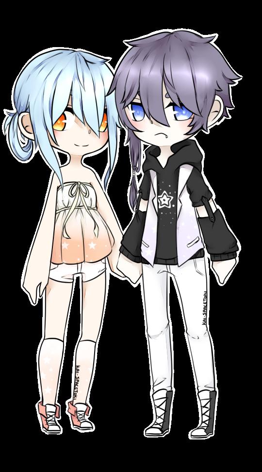 Star couple Adopts Auction (CLOSED) by Kai-SpaceToki