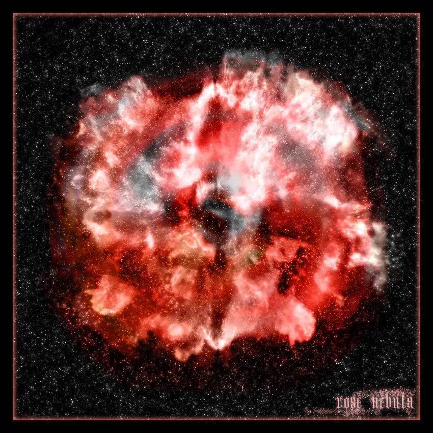 Rose Nebula by Jujitzamu