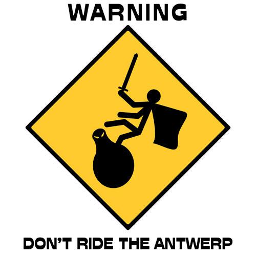 Don't Ride the Antwerp by Jujitzamu