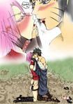Menma and Sakura