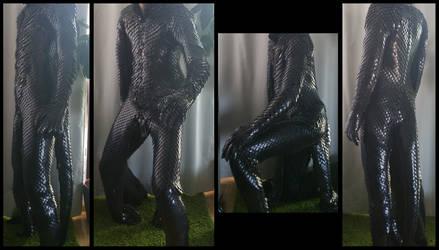 WIP MK2 Dragonscale armor / costume 70-80% by BlackMetalDragon