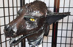 Dragonscale head by BlackMetalDragon