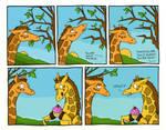 Giraffes say 'WHUT?'
