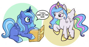 Dibs on the Sun by thelovecat