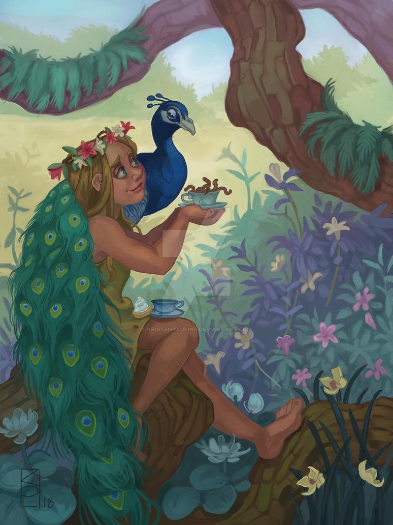 The Queen's Garden by KristenPauline