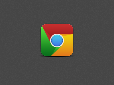 Google Chrome replacement icon iPhone by MrAronsson