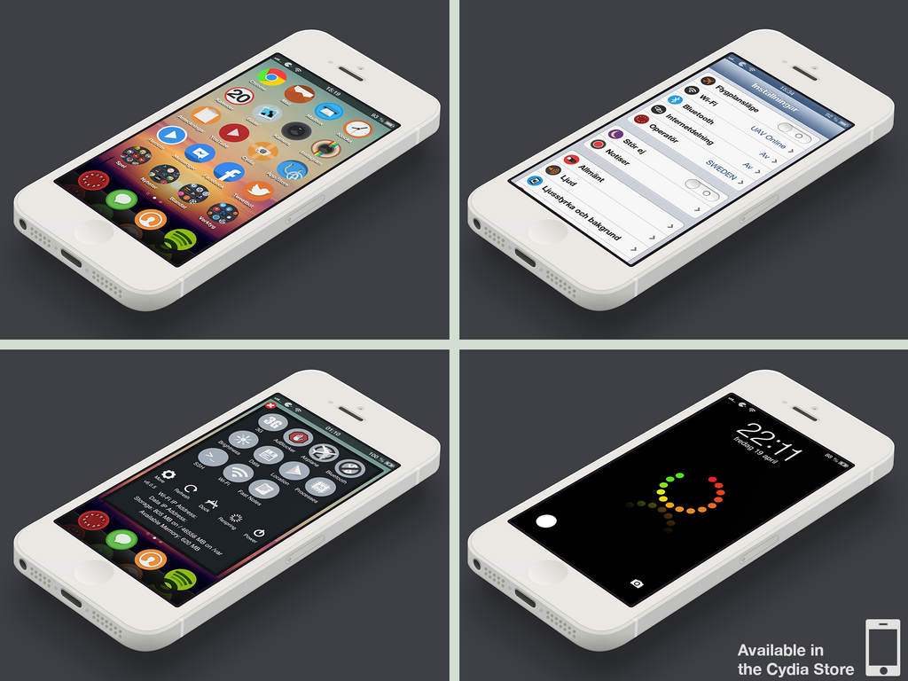 Wazi iPhone theme by MrAronsson