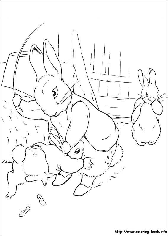 Blank Peter Rabbit coloring page by Frothingham on DeviantArt