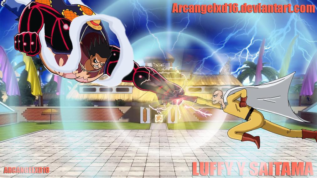 lUFFY GEAR 4 VS SAITAM... One Piece Wallpaper Luffy Gear Fourth