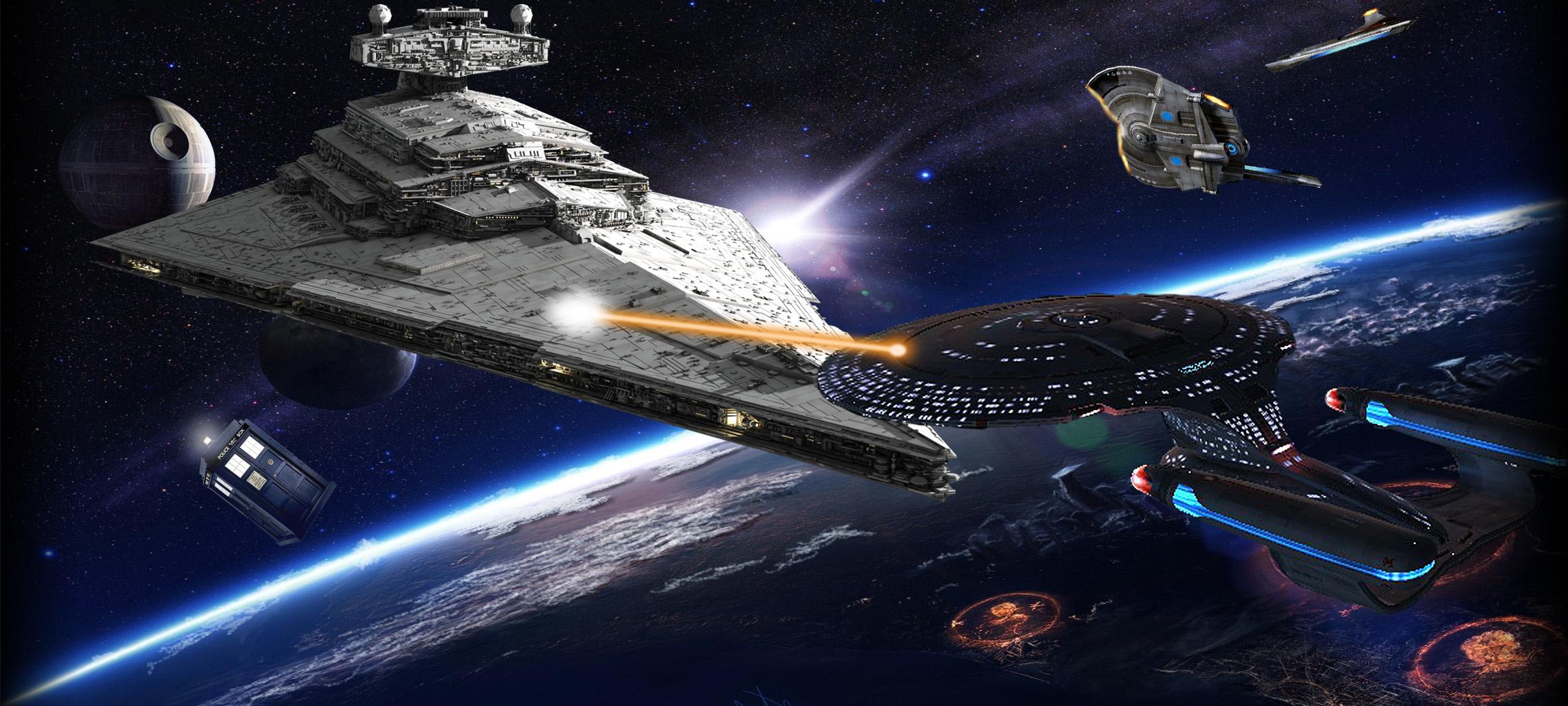 Crossover: Star Trek - Star Wars - Doctor Who by CT1271 on DeviantArt