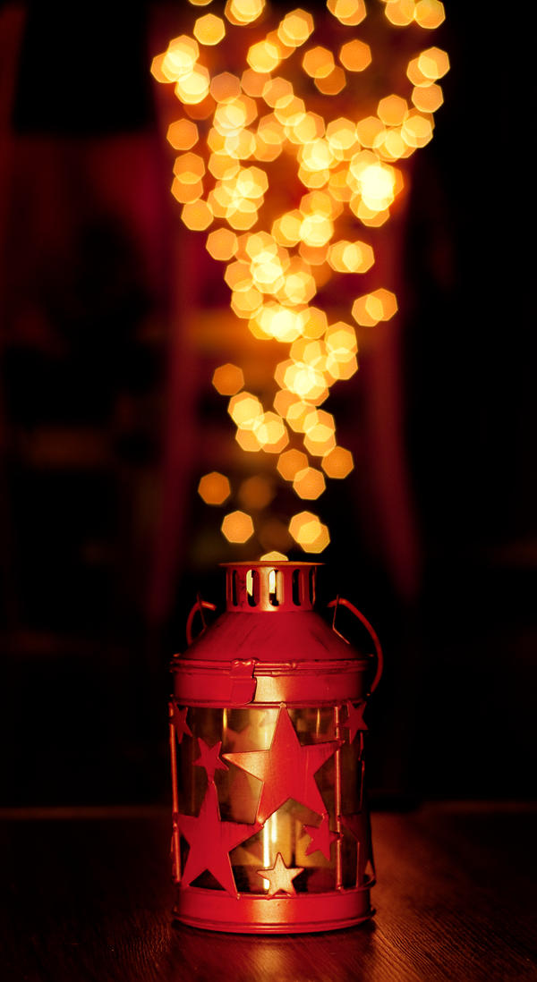 The Bokeh Lantern by Pmania