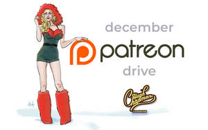 December Patreon Drive - Dec 4th - Dec 18th, 2018 by hughdidit