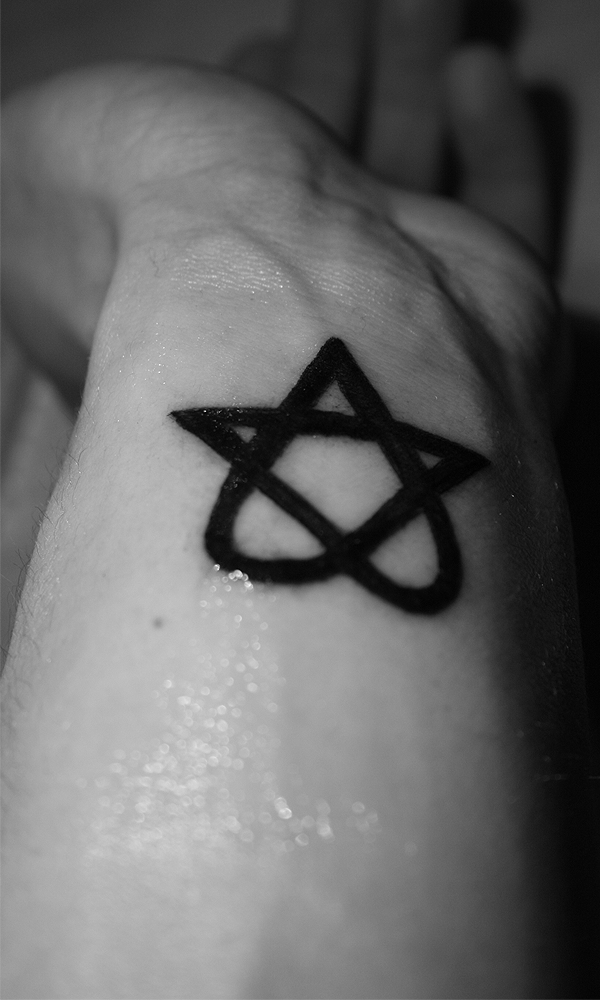 Heartagram Tattoo Dollarbie