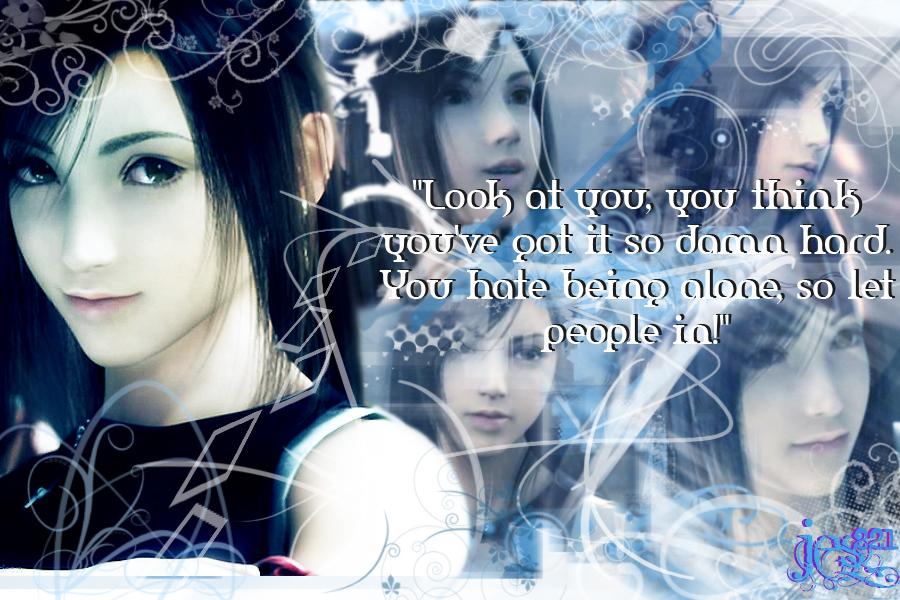 tifa lockhart relationship quotes