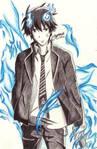 Rin Okumura by Jes221