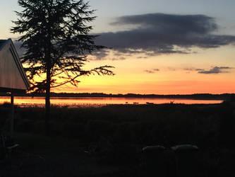 Nature: Sunset by LPHogan