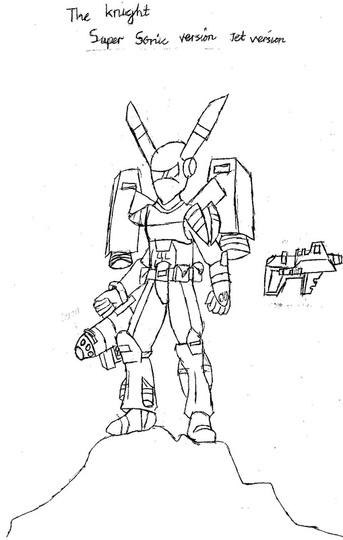 The Knight Original By The Bakatwa Warrior On Deviantart