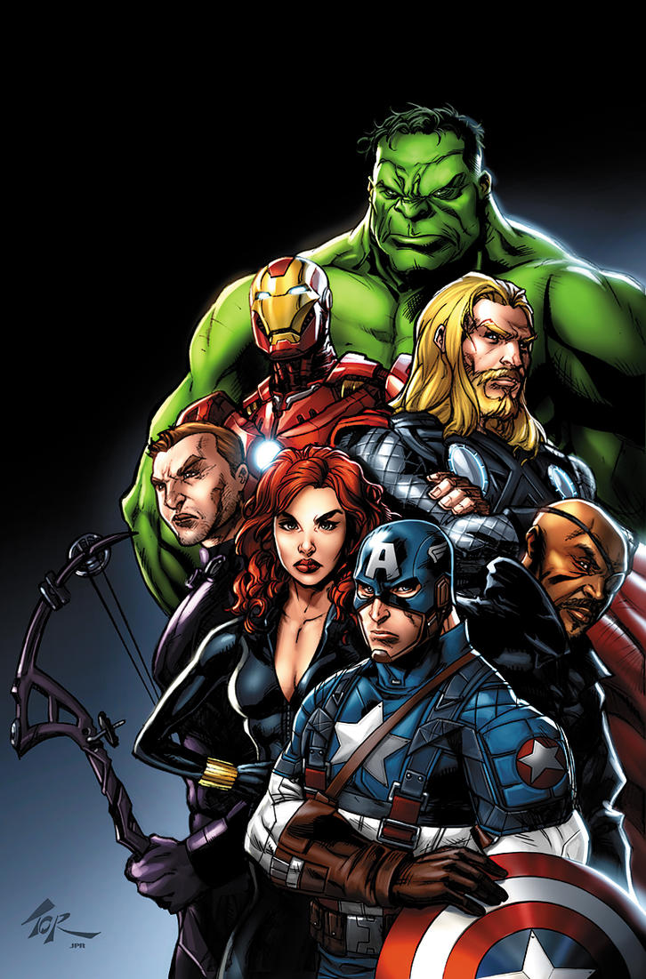 Avengers...with JPR Magic by torsor