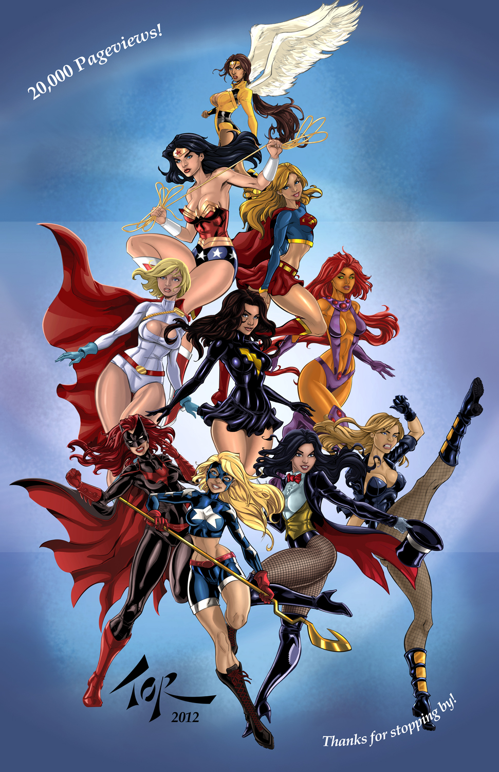 Heroines of the DC by torsor