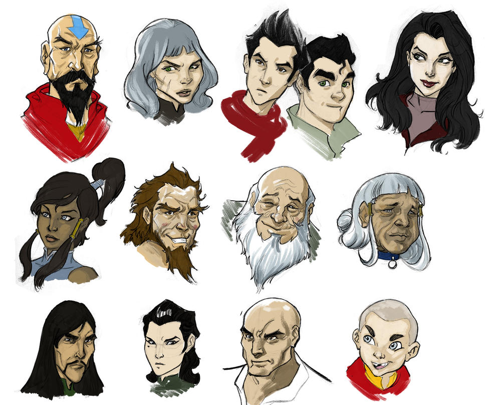 Korra Sketches by torsor