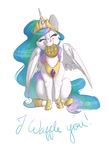 Celestia Waffle's You!  - Commission