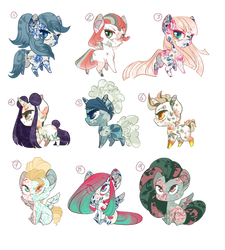 LOWERED PRICE!!  Chibi MLP Themed Adopts ~ OPEN by DrawingJules