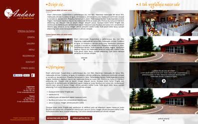 Andara - banquet hall company by pawelkarbarz